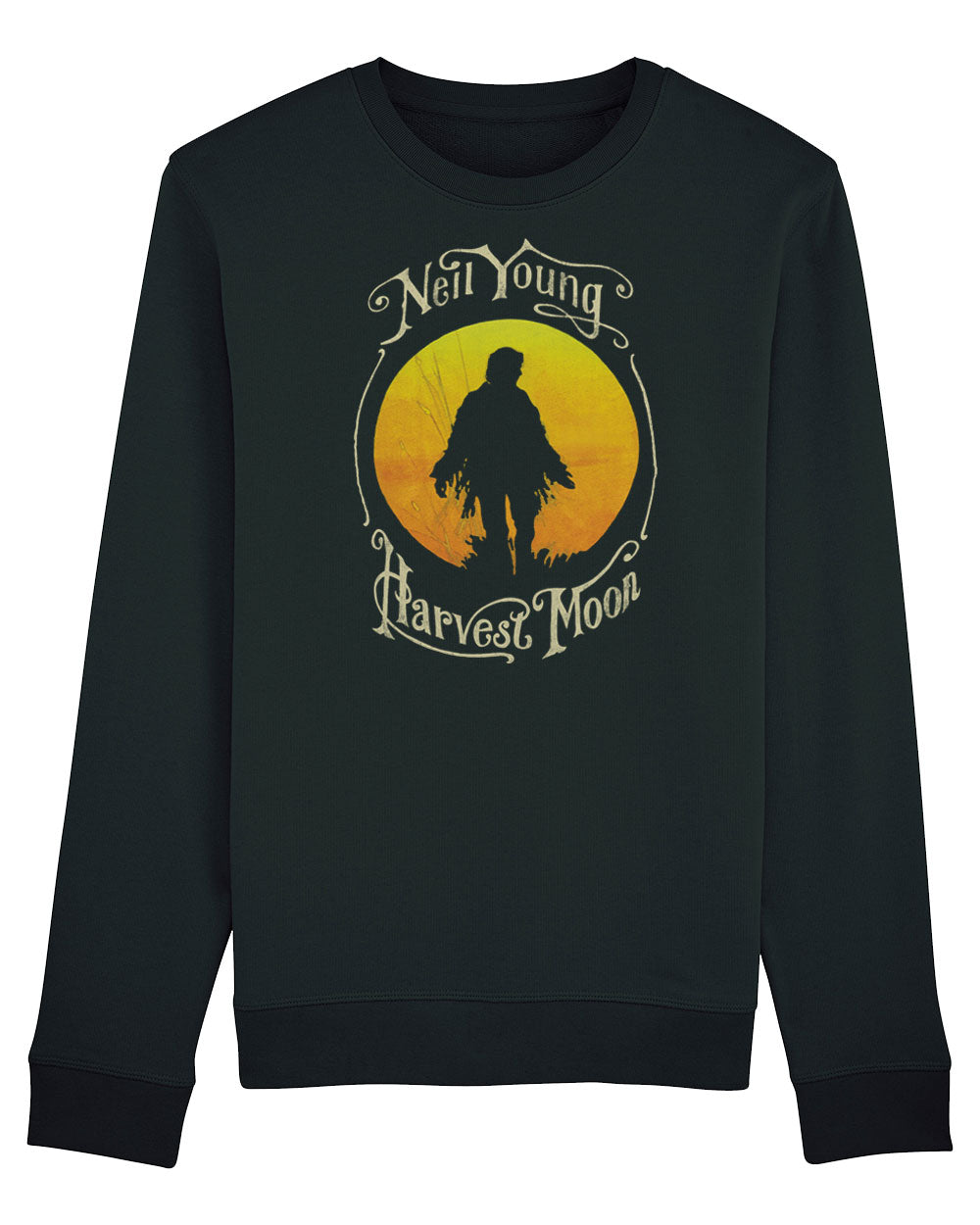 Neil Young Sweat Shirt - Neil Young Harvest Moon Sweat Shirt