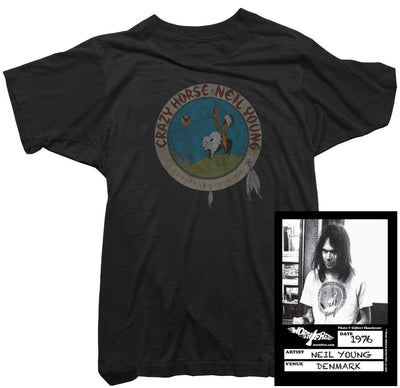 Neil Young T-Shirt - Crazy Horse Tour 1976 Tee