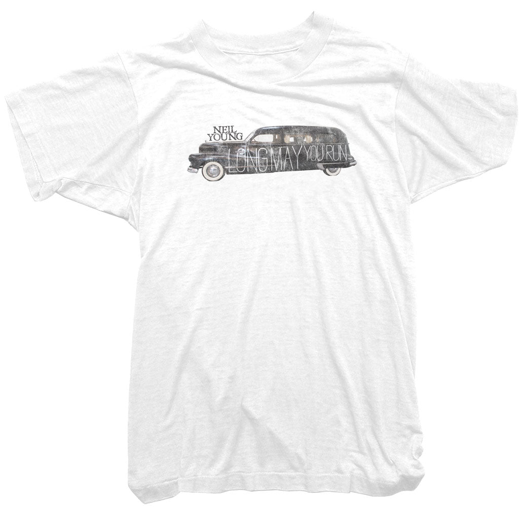 Neil Young T-Shirt - Long May you Run Tee