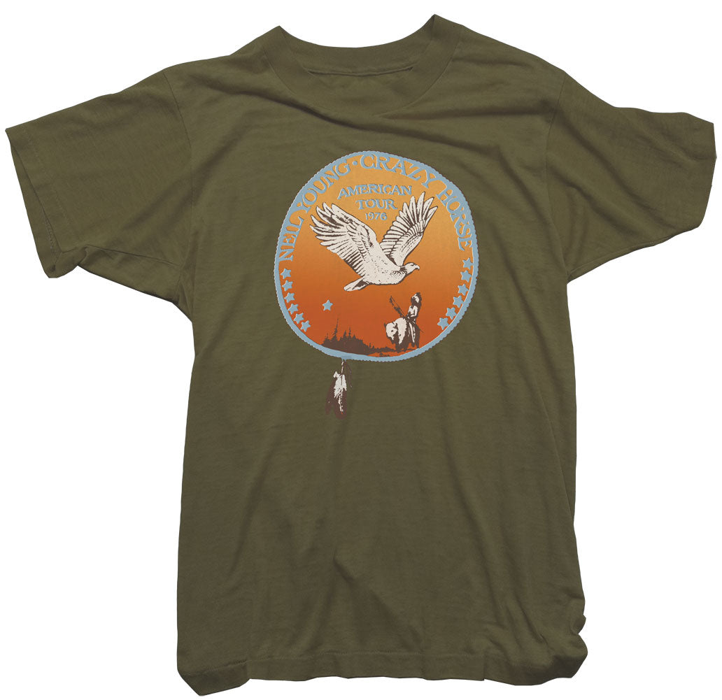 Neil Young T-Shirt - Neil Young Crazy Horse US Tour Tee