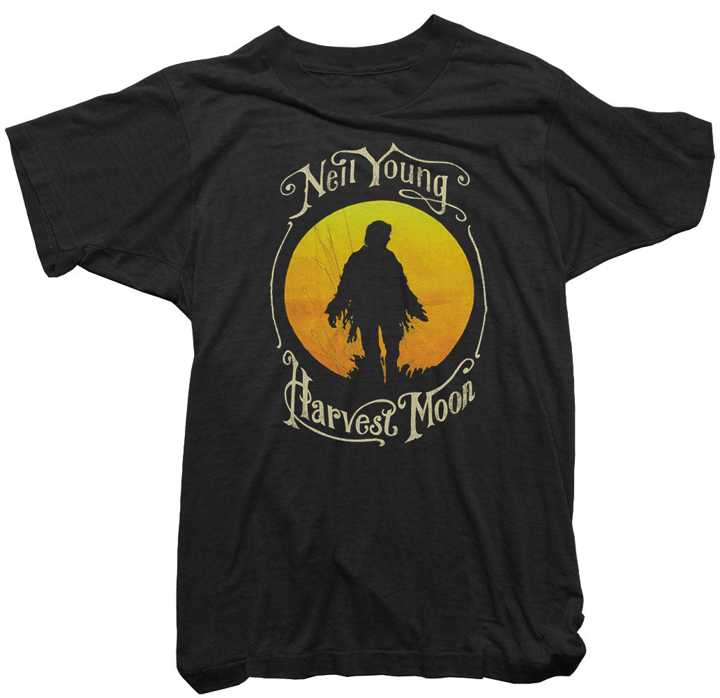 Neil Young T-Shirt - Neil Young Harvest Moon Tee
