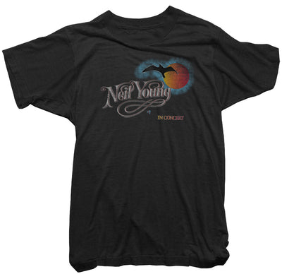 Neil Young T-Shirt - Neil Young in Concert Tee