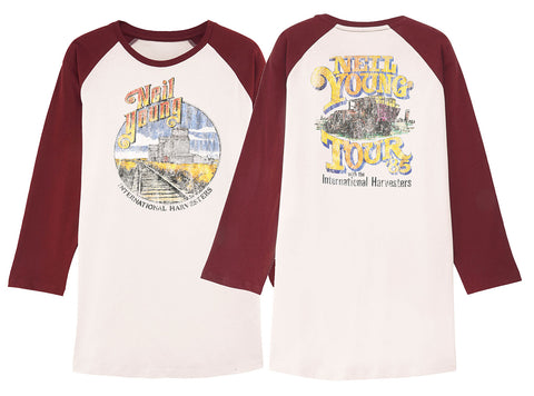 Neil Young T-Shirt - Neil Young Harvesters Tour 1985 Tee
