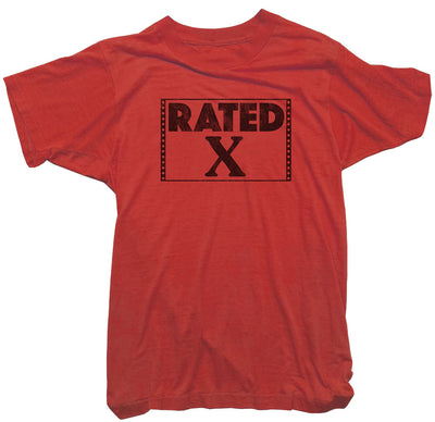 Rated X T-Shirt - Worn Free X Rated Tee