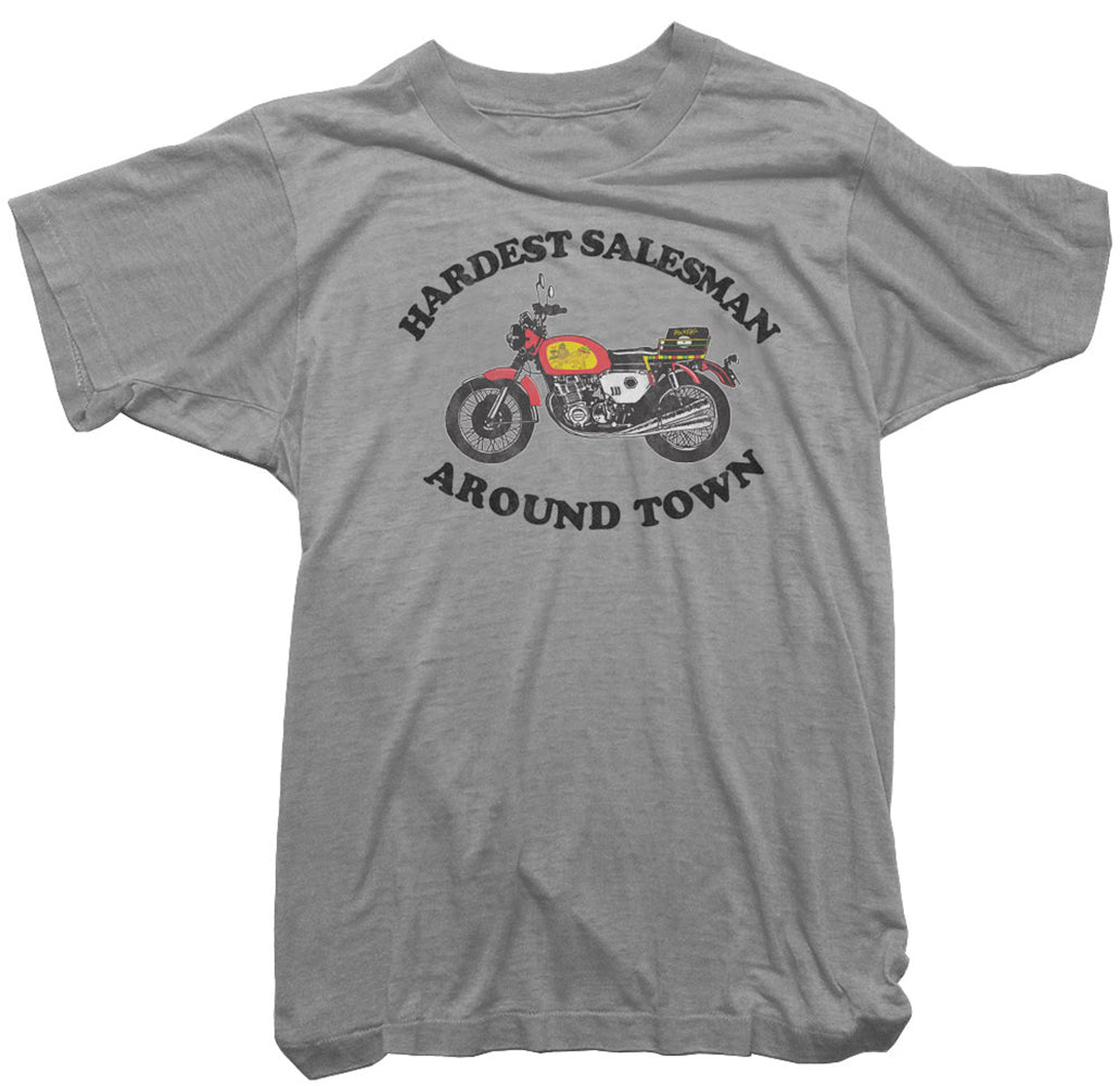 Rockers T-Shirt - Hardest Salesman Around Town Tee