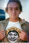 John Van Hamersveld T-Shirt - Crazy World 70s colors Tee