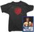 Steve Marriott T-Shirt - Arrow Heart Tee worn by Steve Marriott