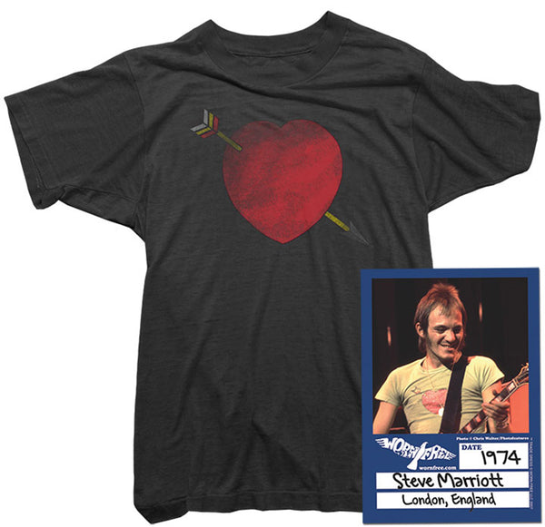 Steve Marriott - Arrow Heart Tee