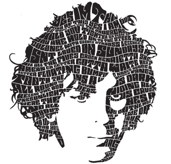 Pink Floyd - Syd Barrett Lyric Head Tee