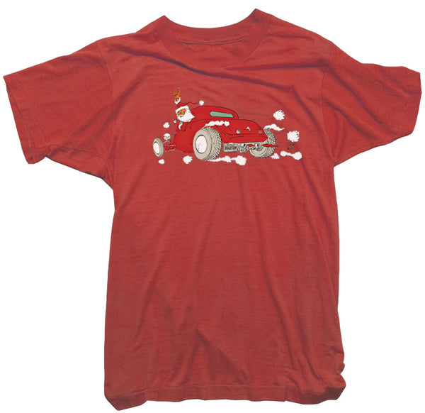 Tom Medley T-Shirt - Santa Hot Rod Tee