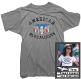 Tommy Ramone T-Shirt - Blue Jackets Tee worn by Tommy Ramone