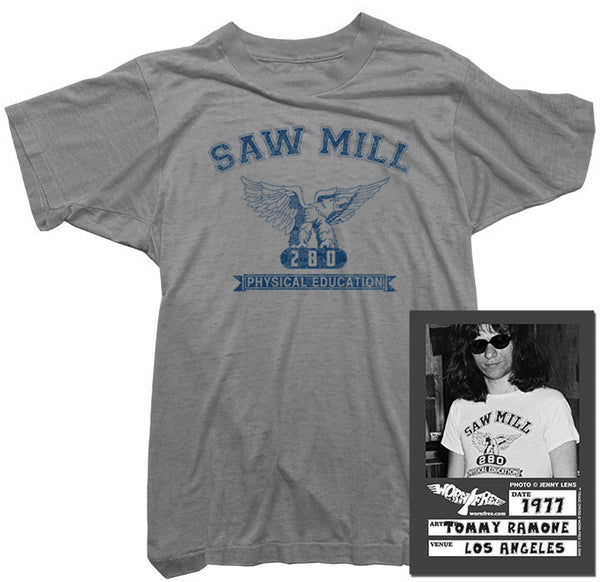 Tommy Ramone - Saw Mill Tee