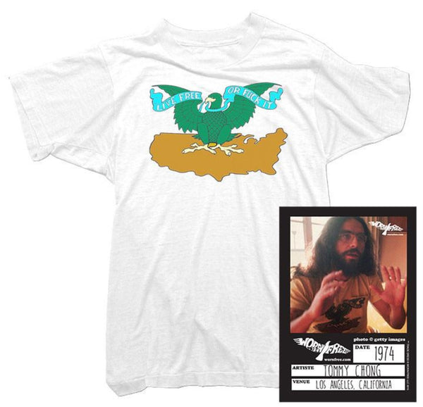 Cheech & Chong - Live Free or Fuck It Tee