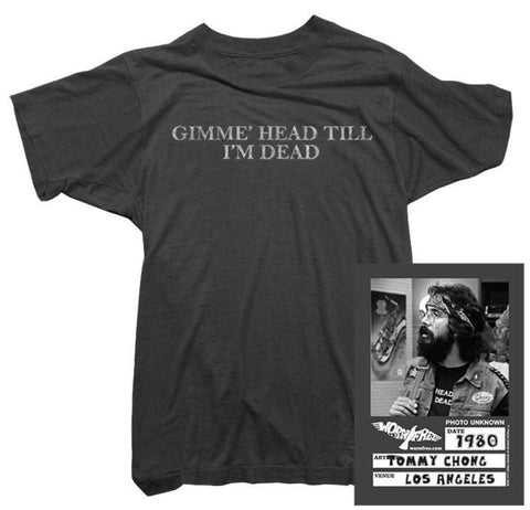 Cheech & Chong T-Shirt - Gimme Head Tee worn by Tommy Chong