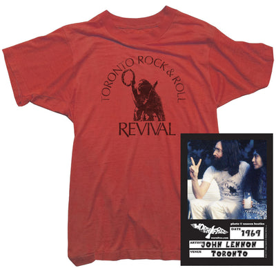 John Lennon T-Shirt - Rock and Roll Revival Tee worn by John Lennon