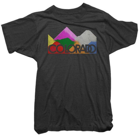 Worn Free T-Shirt - Colorado Tee by Thomas Coe