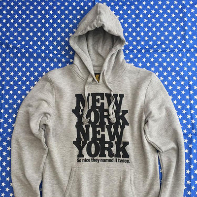 New York New York Hoodie Sample
