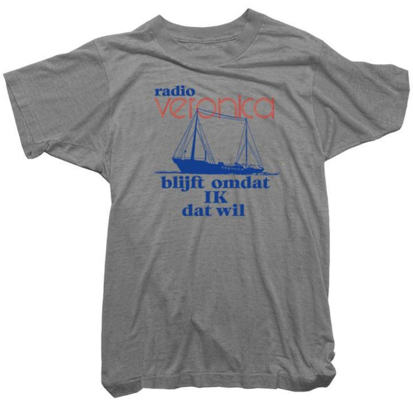 Worn Free T-Shirt - Radio Veronica Tee
