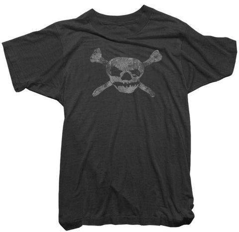 Worn Free T-Shirt - Skull and Bones Tee