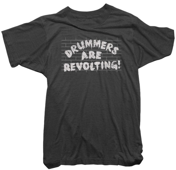 Worn Free T-Shirt - Drummers are Revolting Tee