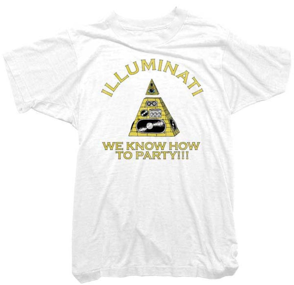 Worn Free T-Shirt - Illuminati Tee