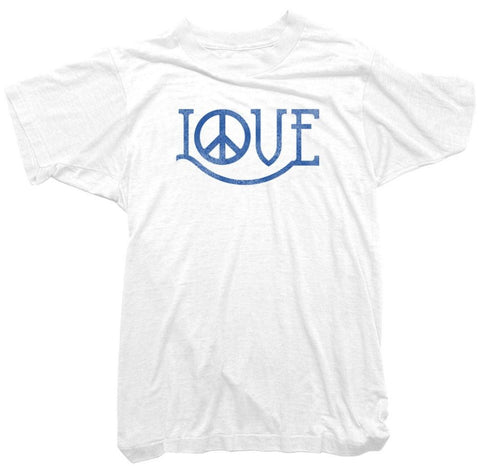 Worn Free T-Shirt - Peace and Love Tee