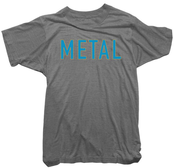 Worn Free T-Shirt - Metal Tee