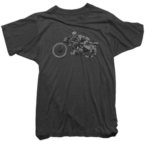 Worn Free T-Shirt - Motorcycle Tee