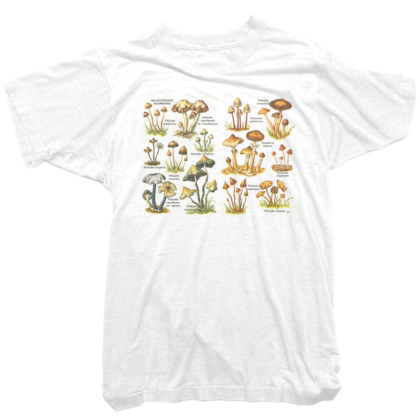 Worn Free - Mushrooms Tee