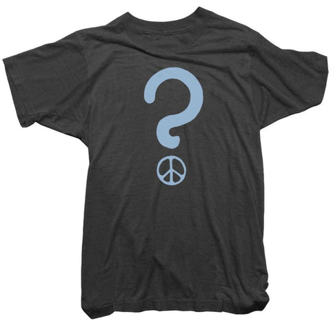 Worn Free T-Shirt - Peace Question Tee
