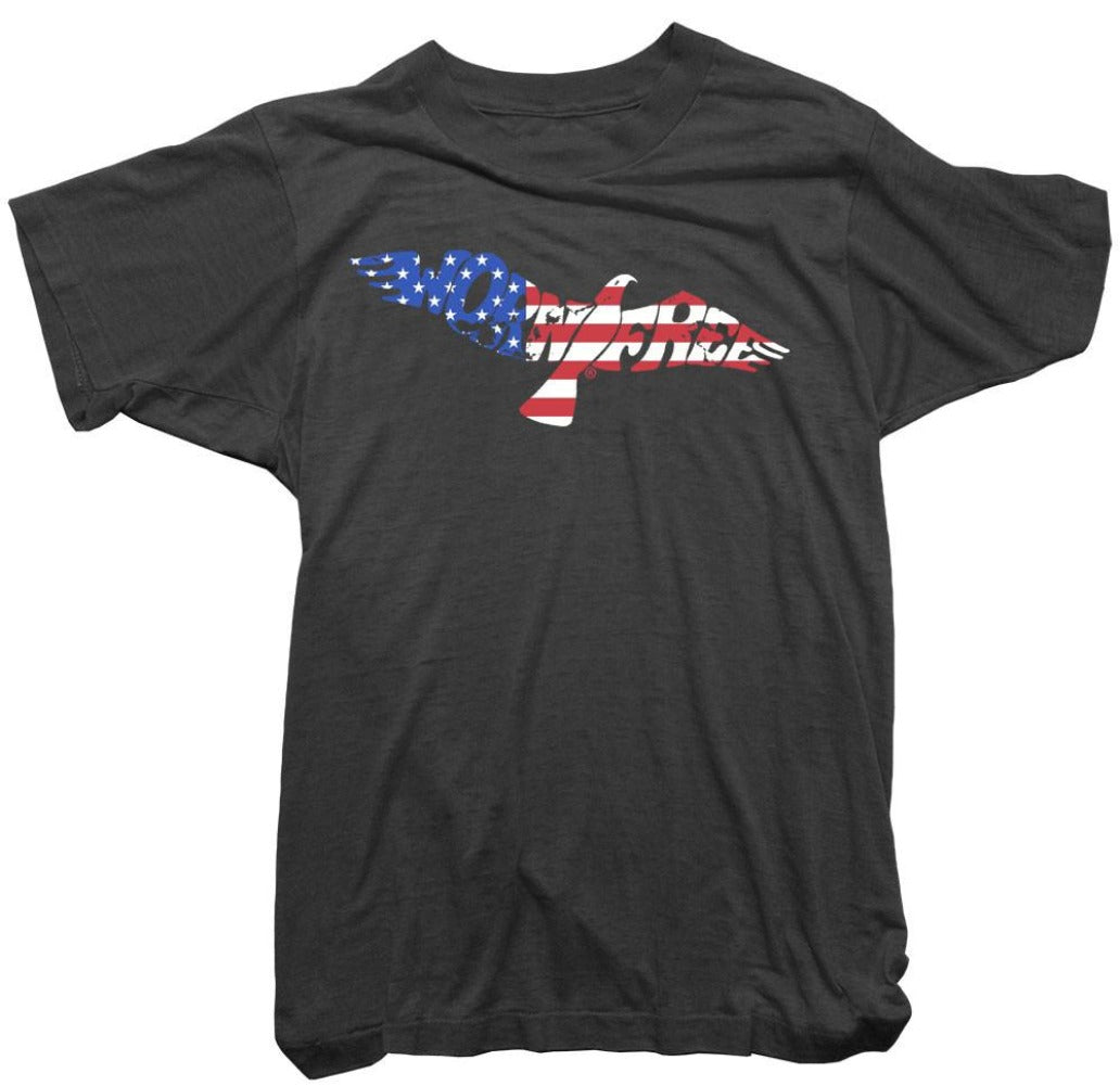 Worn Free T-Shirt - Bird Stars and Stripes Tee