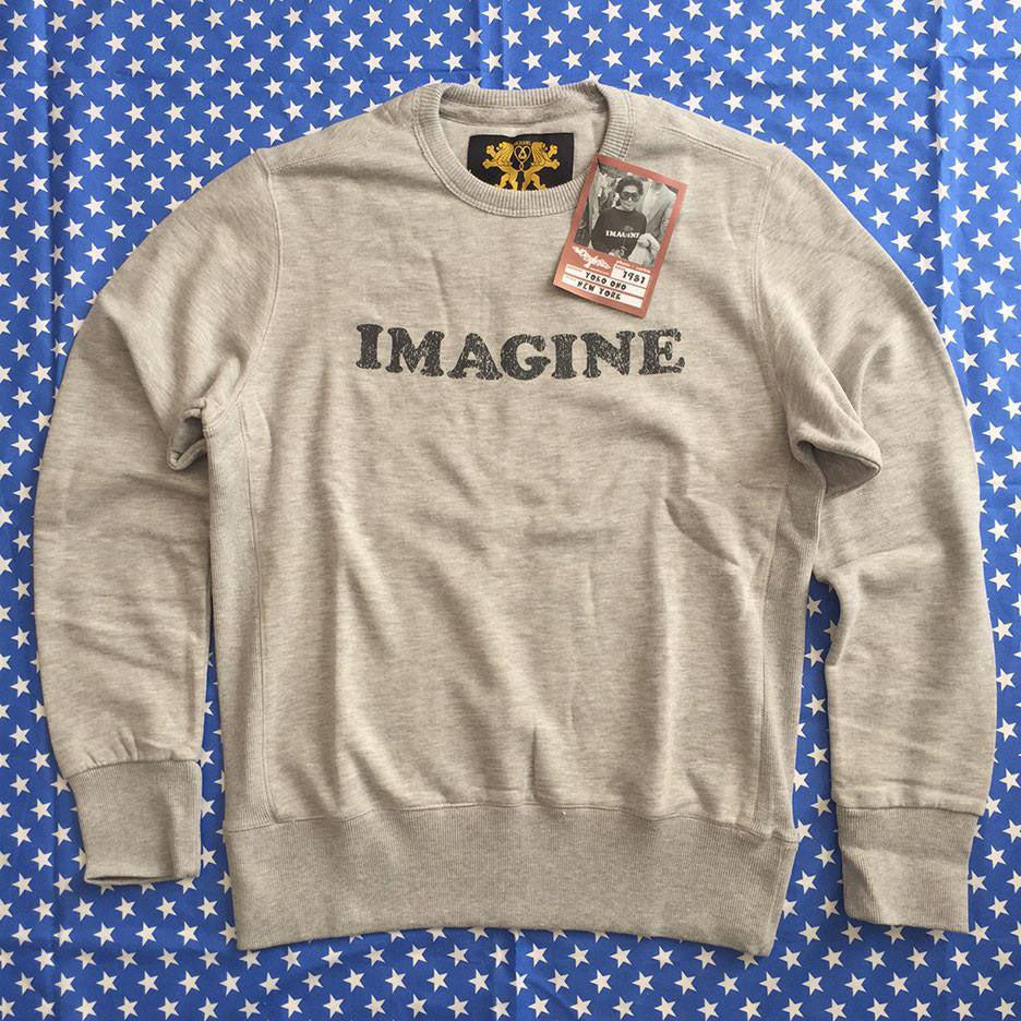 Yoko Ono Imagine Sweatshirt Sample