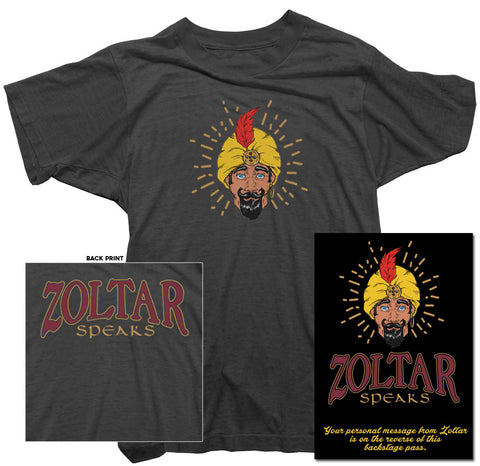 Zoltar - Zoltar Speaks Back print T-Shirt