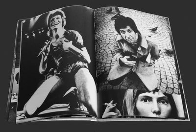 Abba to Zappa Photo Book signed by Gijsbert Hanekroot
