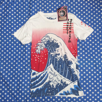 Pink Floyd Tour 74 - worn by Nick Mason all over print sample