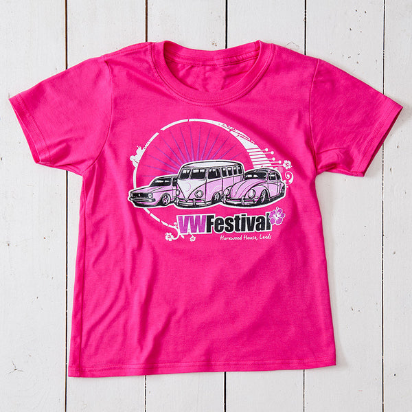 Kids tshirt in pink