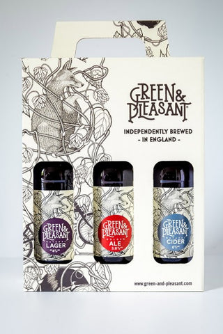 Green & Pleasant Gift Pack (330ml x 3) x 4