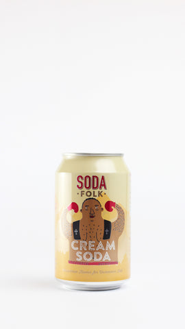 Soda Folk Cream Soda 330ml x 24