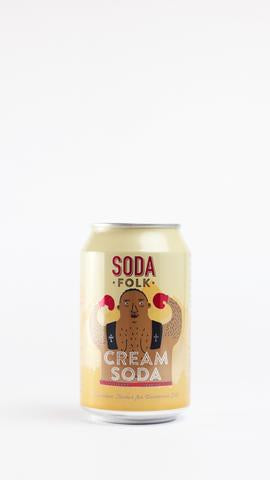 Soda Folk Cream Soda 330ml