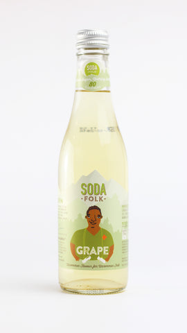 Soda folk Grape 330ml x 12