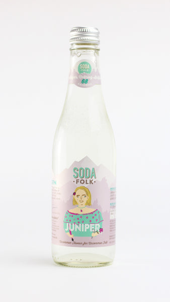 Soda folk Juniper 330ml x 12