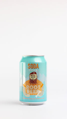 Soda Folk Root Beer 330ml x 24