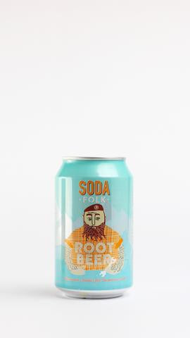 Soda Folk Root Beer 330ml