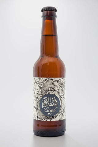 Green & Pleasant Cider 6% 330ml x 24