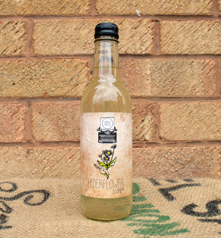 H&P Elderflower soda 330ml x12