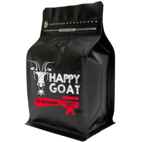 Happy Goat El Salvador ground 250g x 4