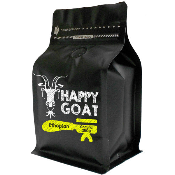 Happy Goat Ethopian Ground 250g x 4