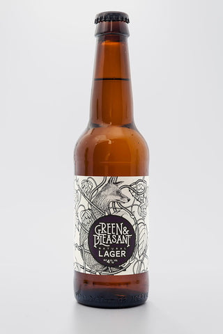 Green & Pleasant Lager 4% 330ml x 24