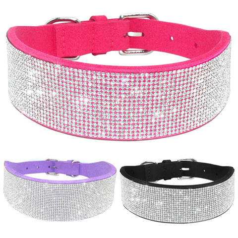 Bling Full Rhinestone Crystal Diamante Collars