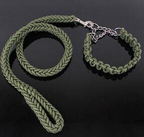 Eight-strand braided long leash  for small medium large dogs